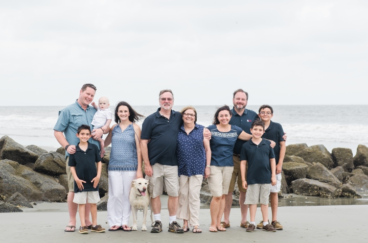 Family Pictures! ~Folly Beach~ Charleston, SC