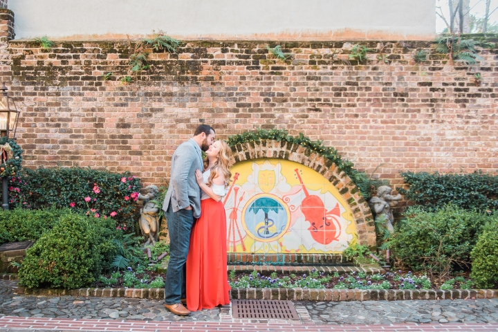 Derek and Katelyn's Downtown Engagement Shoot ~ Charleston, SC ~
