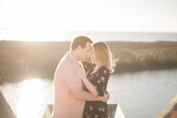 Josh and Mary ~ Pitt Street Bridge ~ Charleston, SC