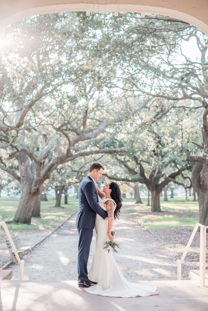 Jay and Antonia ~ Elopement Shoot ~Charleston, SC ~